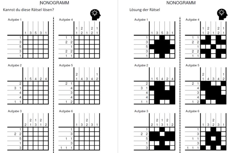 Lösen nonogramm teal nonogram